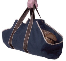 Heavy Duty Canvas Log Firewood Wood Carrier Bag... - $19.75