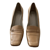 """Coach """"Georgia XO"""" Vintage Women's Leather Heels Size 7.5 B Made In Italy  - $27.66"""