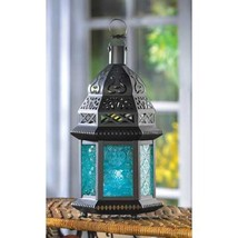 10 Large moroccan Style Lantern Candleholder Wedding Centerpieces - $113.85