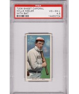 Willie Keeler T206 1909-11 Sweet Caporal Graded PSA 4.5 - $699.00