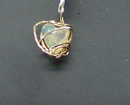 Jewelry By Two Gems (Wp102) 14k Gold Filled Wire Wrap Pendant w Ethiopian Opal