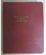 Vintage Radio TV Phonograph Service Pricing Guide 1954 - $9.99