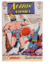 ACTION COMICS #308 1964-SUPERMAN-GOLIATH COVER-DC COMIC G - $25.22