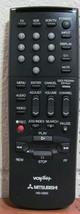 Mitsubishi HS-U550 Original Vcr Remote For HSU250, SMR2601R, HSU550, HSU28 - $12.99