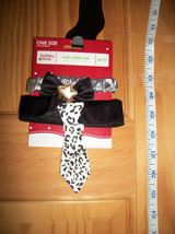 PET Cat Fashion OSFM Christmas Holiday Collar Costume BLACK Neck Accesso... - $3.32