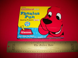 Clifford Big Red Dog Phonics Fun Set Scholastic Book Reading Education P... - $14.24