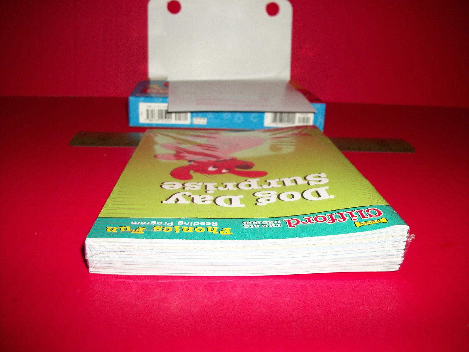 Clifford Big Red Dog Phonics Fun Set Scholastic Book Reading Education Program