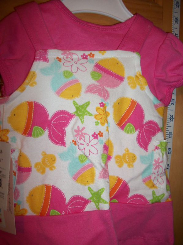 Fashion Gift Wishes Kisses Baby Clothes 0M-3M Newborn Set Cute By The Sea Dress