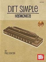 Dirt Simple Harmonica Book w/CD set - $17.99