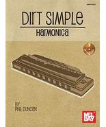 Dirt Simple Harmonica Book w/CD set - $17.99