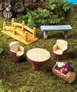 Enchanted Garden Accents Set  Mini Doll House - $26.85