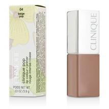 Clinique Pop Lip Colour + Primer - # 04 Beige Pop  - $40.00