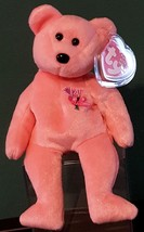 TY BEANIE BABIES 2001 SN 4517 –  MUM THE MOTHER'S DAY BEAR – RETIRED - MWMT - $9.70