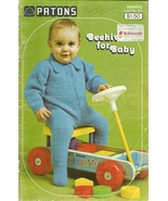 Patons Beehive For Baby Crochet Knit Pattern Book No. 150 - $9.98