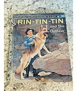 RIN TIN TIN AND THE OUTLAW VTG 1957 Little Golden Book ~ 1st Edition A - $14.80