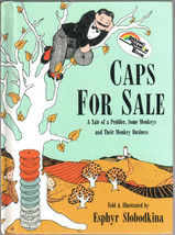 Caps for Sale: A Tale of a Peddler, Some Monkeys and Their Monkey Business - $6.75