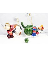 Southwestern South of the Border CAT Christmas Ornaments - 2 - $20.00
