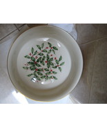 """Lenox Holiday Presidential 9 1/4"""" Rd Vegetable Bowl - special reduced pr... - $75.00"""