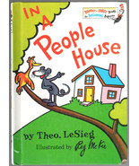 In A People House by Theo. LeSieg, A Bright & Early Book for Beginning B... - $13.05