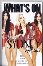 SYDNEY After Dark  @ WHATS ON Las Vegas Magazine AUGUST 2014 - $1.95