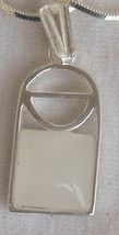 Mini white window pendant - $25.00