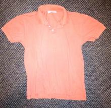 Shirt Boys Size Sz 12 Polo Talbots Kids Top Collared Short Sleeve Orange - $15.00
