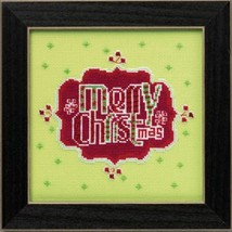 Merry Christmas 2014 Amylee Weeks beaded button kit Mill Hill - $15.30