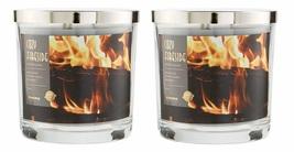 Sonoma Cozy Fireside Scented Candle 14 oz- Cedarwood Vanilla Patchouli x2 - $54.50
