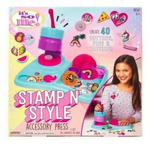 It's So Me Stamp N Style Accessory Press Create Patches Pins Buttons - ISM NEW