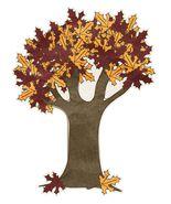 Autumn Oak Tree-Digital Download-ClipArt-ArtClip-Digital Art - $4.00