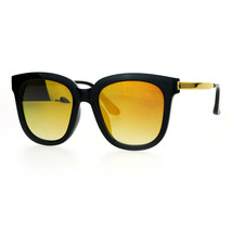 Womens Fashion Sunglasses Oversized Square Hipster Frame Mirror Lens - $10.95