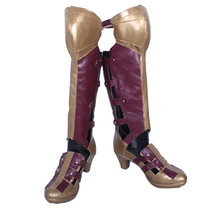 Wonder Woman Diana Prince Cosplay Shoes Halloween Party Fancy Cosplay