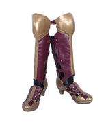 Wonder Woman Diana Prince Cosplay Shoes Halloween Party Fancy Cosplay - $114.14