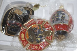 Courage Under Fire Tenth Edition Bradford Exchange Porcelain Ornaments Set  - $39.95