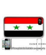 Syria Syrian Flag Apple iPhone 4 4S Case Cover Skin Clear on Sides - $13.95