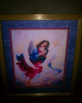 Homco Angel With Lamb Picture Home Interiors Wall Decor - $39.97