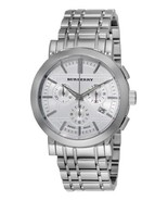BURBERRY BU1372 STAINLESS STEEL CHRONOGRAPH HERITAGE MEN'S WATCH - $269.99