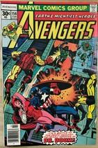 AVENGERS #156 (1977) Marvel Comics VG+/FINE- - $9.89