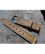 Leather watch band leather watch strap 22mm watch strap panerai strap le... - $32.11