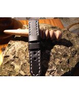 Leather  Watch strap   Handmade band Strap watch Panerai strap Leather s... - $29.11