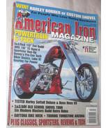 American Iron Motorcycle Magazine July 2005 Skull Bike Free Shipping U.S.A. - $13.78