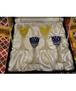 Faberge Xenia Liqueur Glasses new in the box - $795.00