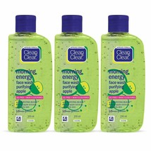 Clean & Clear Morning Energy Facewash, Apple, 100ml (Pack Of 2) - $29.69