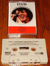 ELVIS PRESLEY A LEGENDARY PERFORMER VOLUME ONE CASSETTE - $38.60