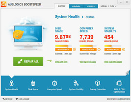 Latest Auslogics BoostSpeed 10 3 PC 1 Yr Registry Optimize Tuneup PC - $51.25