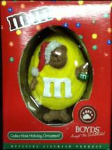 "Boyds Bearstone ""Yellow Peeker"" -3.25"" M&M Resin Peeker Ornament #257133MM- NIB - $12.99"