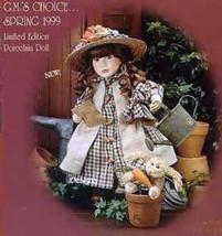 """Boyds Yesterdays Child  """"Julia..Garden Friends""""- #4912 -16"""" Doll- LE-NIB-1999 - $59.99"""