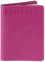 Shvigel Leather Passport Cover - Holder - for Men & Women - Passport Cas... - $11.26