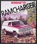 1979 Dodge Ramcharger 4X4 Original Truck Sales Brochure - $8.86
