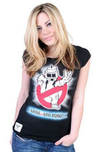 Cardboard Robot Femmes Noir II T-Shirt Nwt image 1